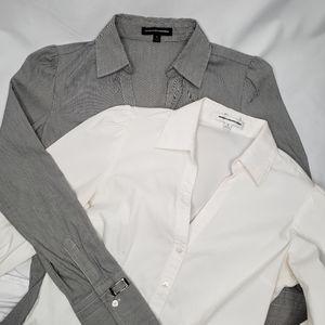 Bundle of 2 Express Design Button Down Shirt